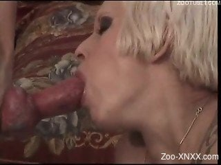 White do fucking a short-haired blonde with perky tits